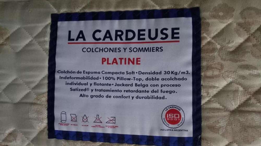 Colchon La Cardeuse Platine 1 plaza 1.90x80x25