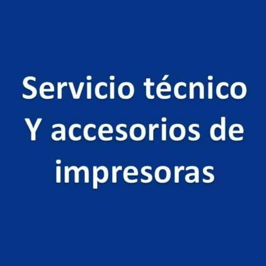 Servicio técnico y accesorios para impresoras