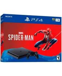 Consola Ps4 Slim 1tb Juego Spiderman Playstation 4