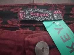 Pantalón Corte Chino Guerra Jeans Premium Elastizado Hombre.