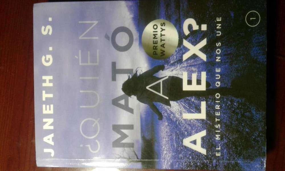Libro ¿Quién mató a Alex?