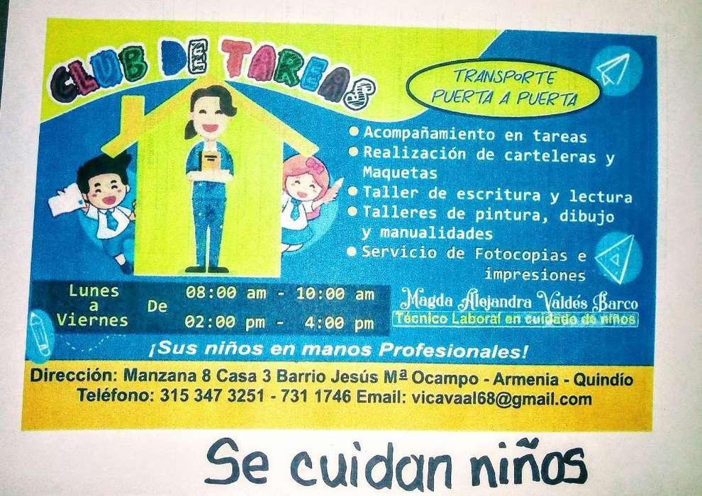 Club de Tareas Y Se Cuidan Niños...