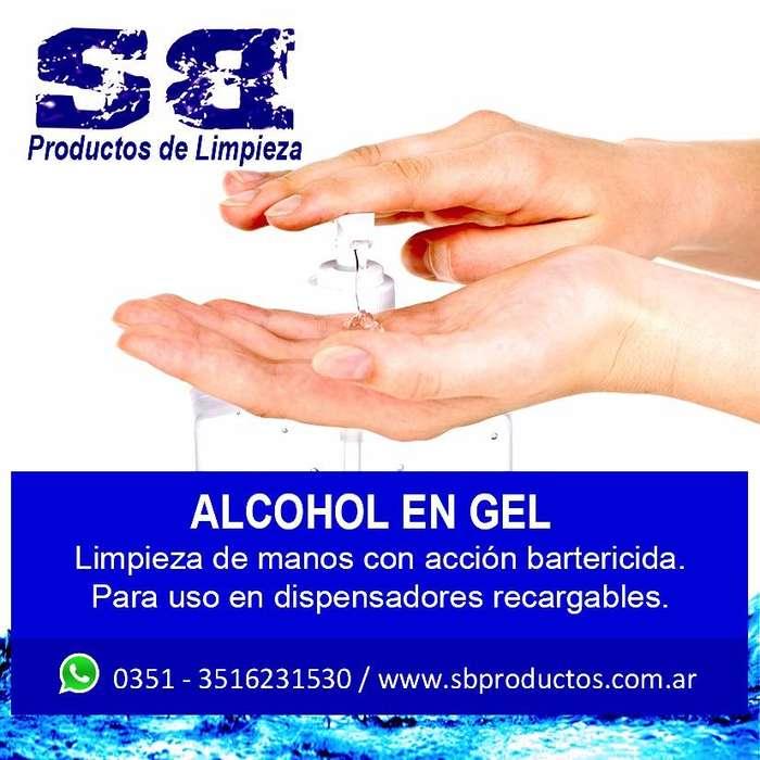 ALCOHOL EN GEL X 5L