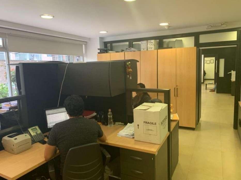 Vendo/Rento Oficinas Amoblada de Lujo, Av Portugal y Eloy Alfaro