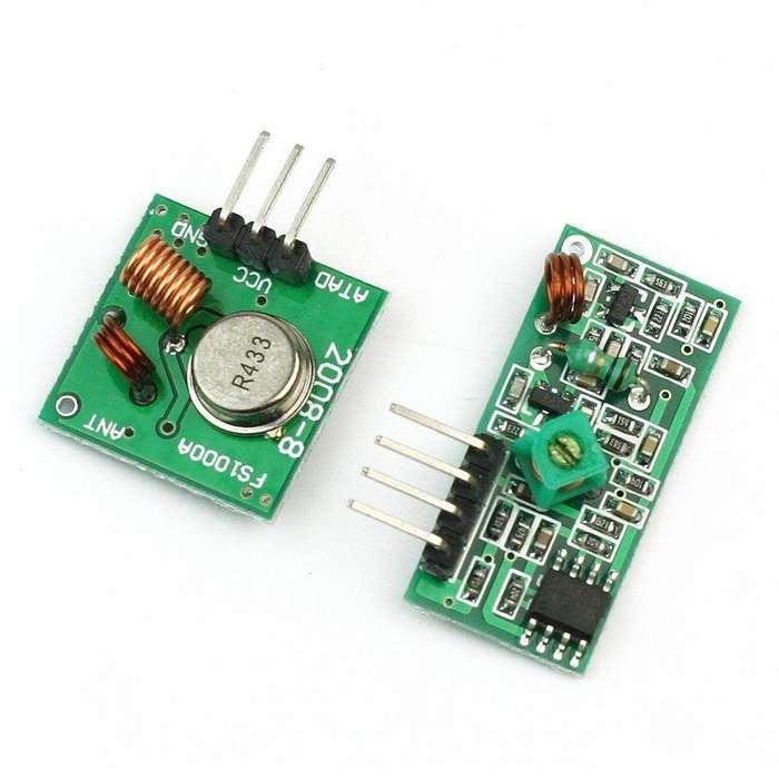 433 Mhz Transmisor Y Recepetor Rf Kit Módulo Arduino