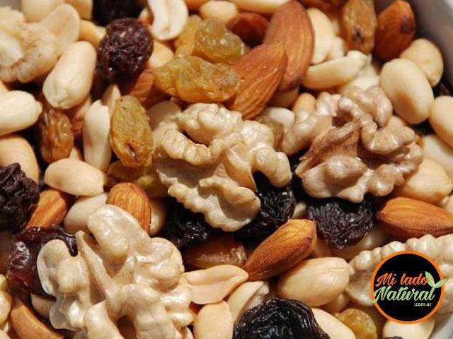 Frutos Secos Mix Energía (Nueces, Almendras, Pasas Rubia, Morena y Manies) x 1 kg 220