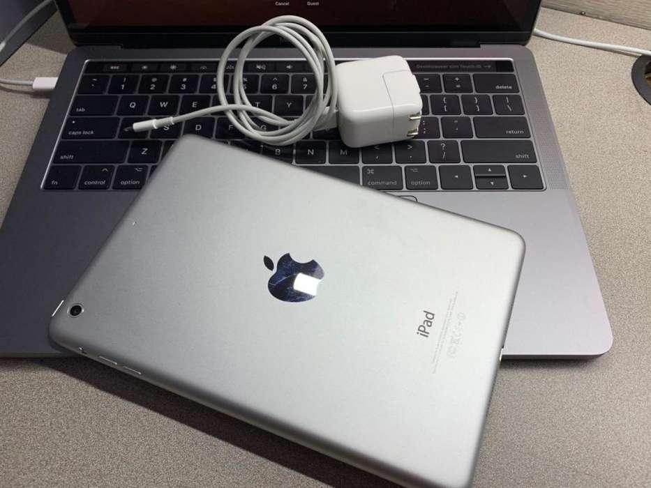 iPad mini 2 WIFI 16GB ESTADO 10/10 LIBRE DE ICLOUD CARGADOR ORIGINAL GARANTIA 6 MESES CON FACTURA LEGAL