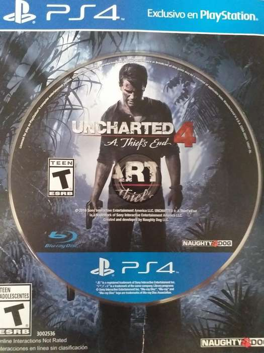 Cambio Uncharted 4