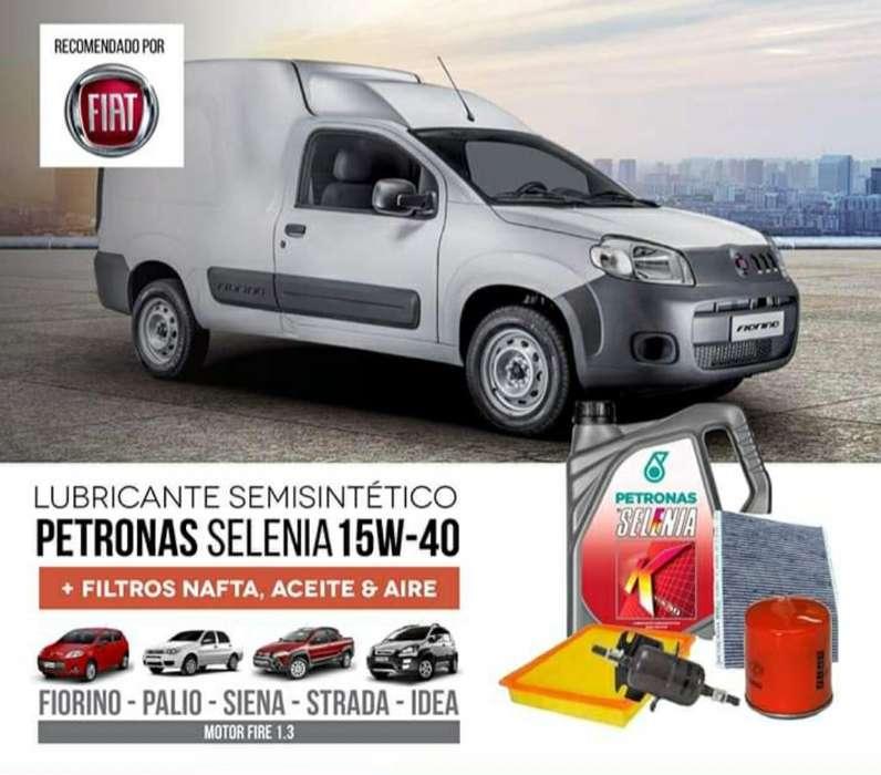 Fiat Aceite Semisintetico Y 3 <strong>filtros</strong>