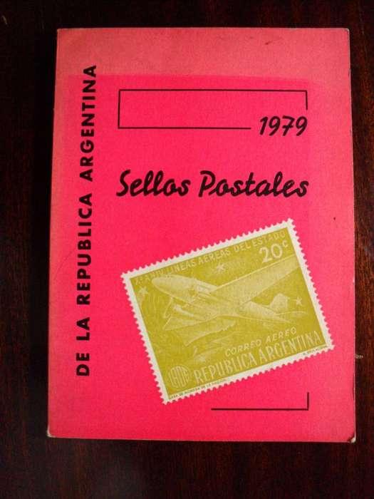 SELLOS POSTALES DE LA REPUBLICA ARGENTNA 1979