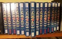 COSMOS COLECCIÓN COMPLETA 12 VHS Y LIBRO EN CAJA SOLO PARA RETIRAR EN NEUQUEN CAPITAL