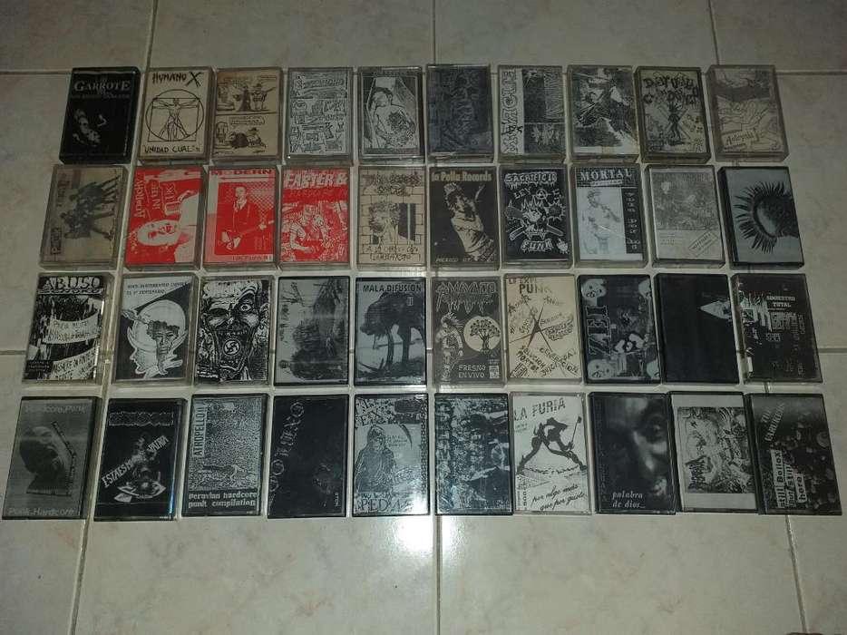 Cassettes Punk Casets Punk Hardcore Rock