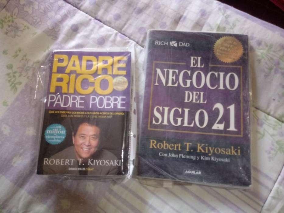 Libros de Robert Kiyosaki - 2 por 1.