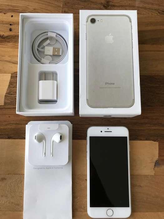 IPHONE 7 32GB SILVER- EXCELENTE ESTADO - LIKE NEW