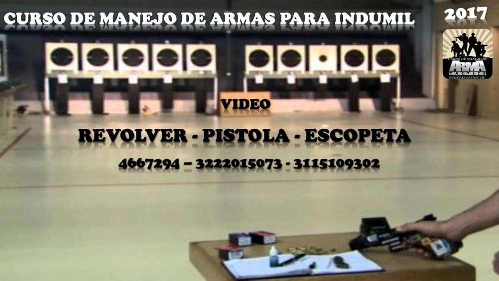 CURSO CERTIFICADO CON VIDEO EN MANEJO DE ARMAS