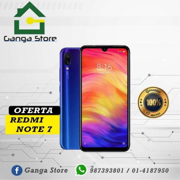 Redmi Note 7 Tienda Libre Garantía