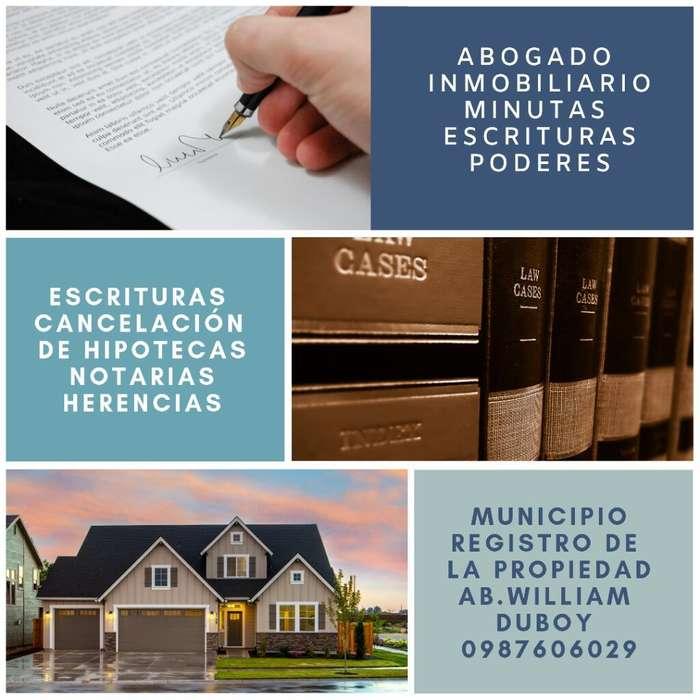Abogado Escrituras Municipio