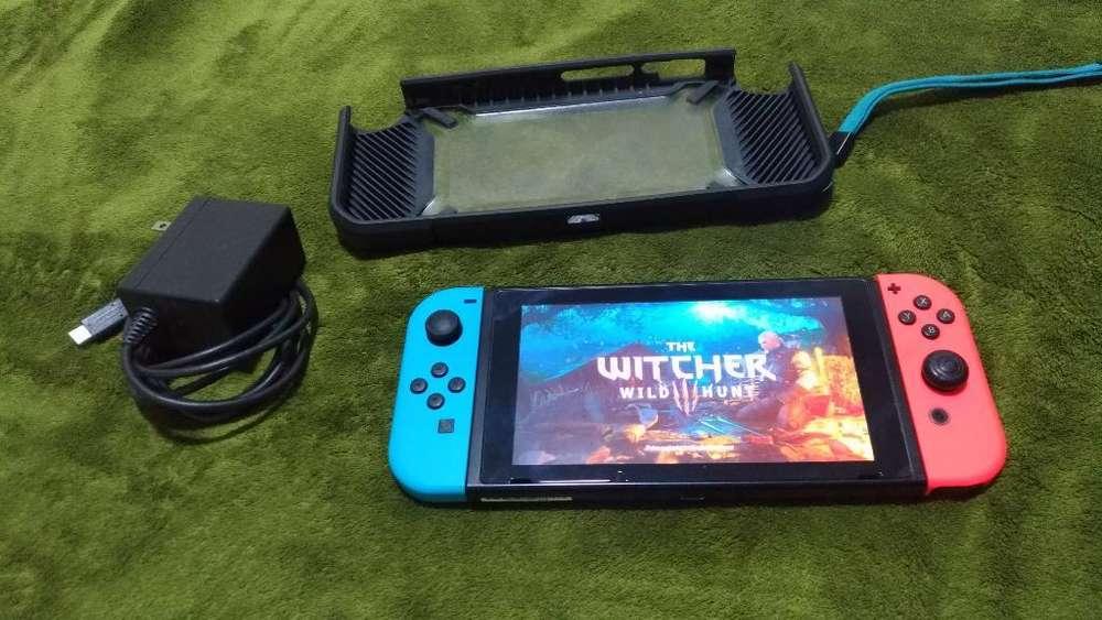 Nintendo Switch con Hack Y 128gb