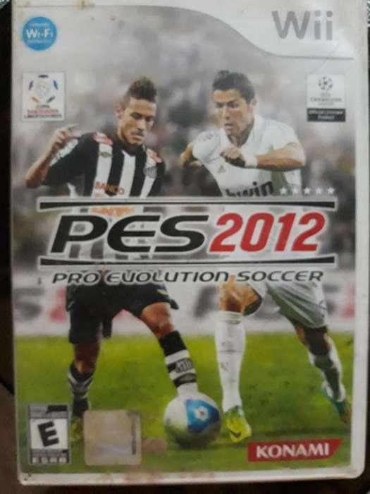 Pes 2012 para Nintendo Wii