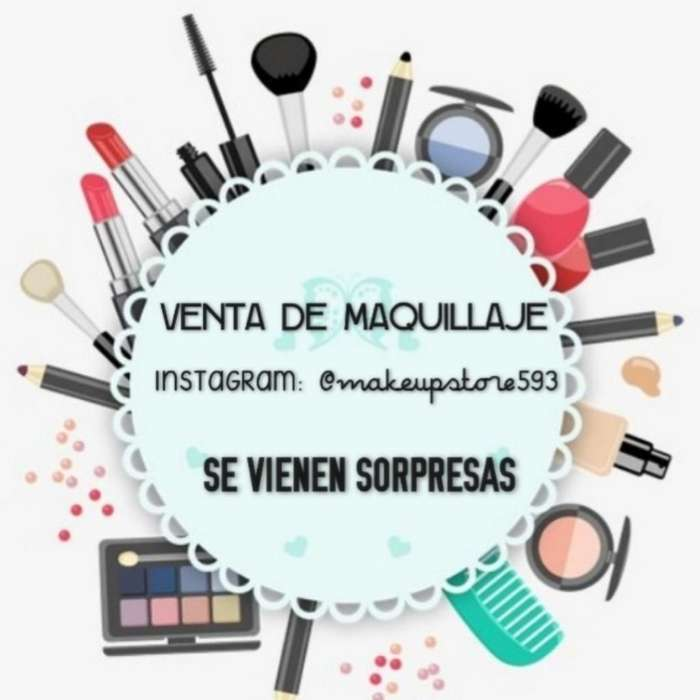Remate de <strong>maquillaje</strong>