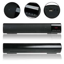 Speaker Parlante Bluetooth USB, pantalla con reloj LED B28S. Altavoz super bass