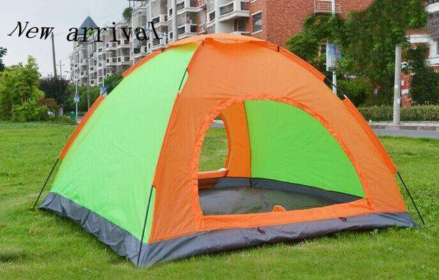 <strong>carpa</strong> Camping De 4 Personas Color Militar Impermeable