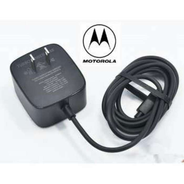 Cargador Turbo Motorola Original