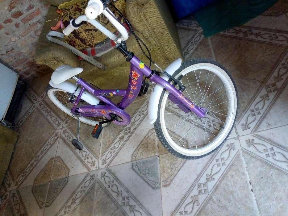 Vendo Bici para Nena Como Nueva Excelent