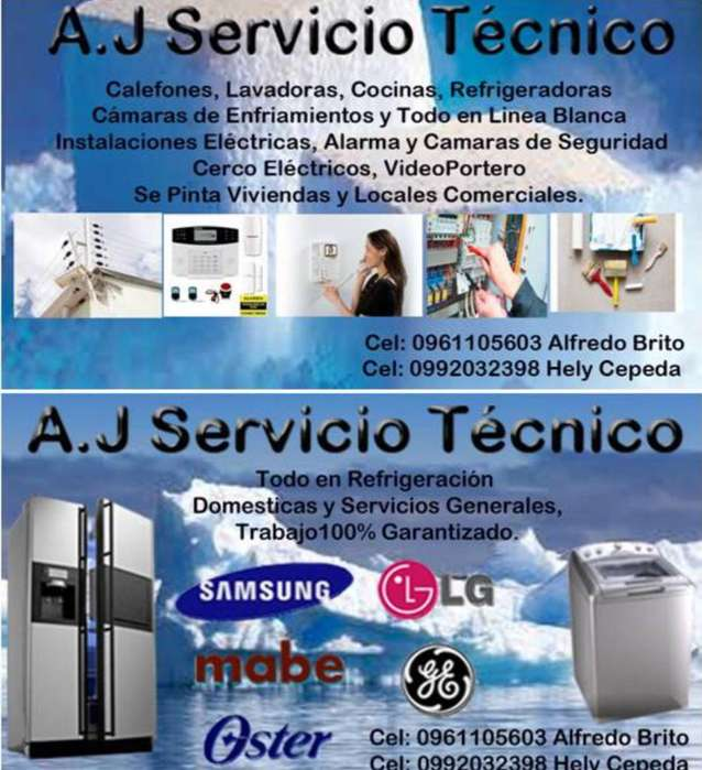 A.J Servicio Tecnico Refrigeracion Y Mas