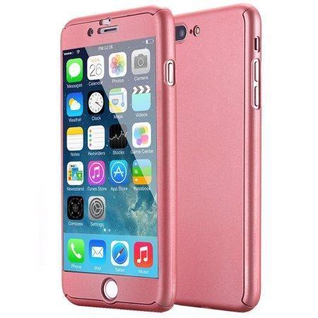 ec001356421 Forro Estuche 360 iPhone 7 Plus y 8 Plus Rosado - Cali