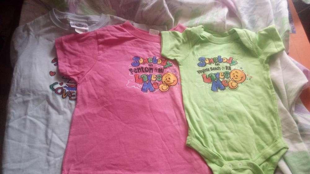 Bodys y camisas para bebs nuevas