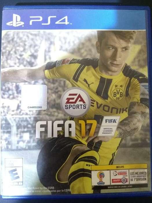Hola Vendo Fifa 17 para Ps4 (:
