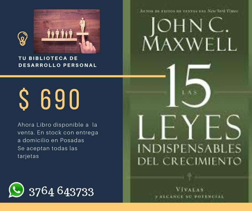 Las 15 Leyes Indispensables del Crecimiento de Maxwell
