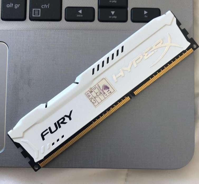 Ram Hyperx Fury Ddr3 4Gb, 1866Mhz
