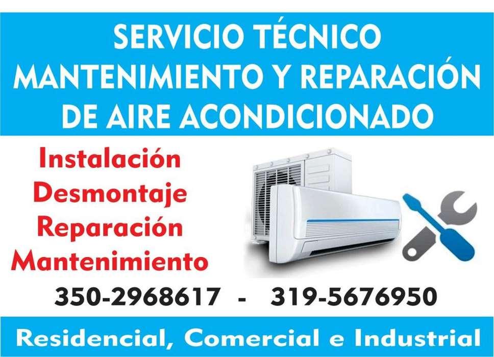Desmontaje, instalación, mantenimiento y reparación de aire acondicionado 3502968617