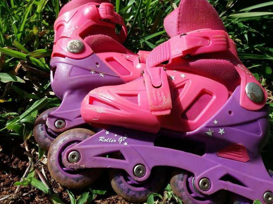 Rollers para Niñas Buen Estado