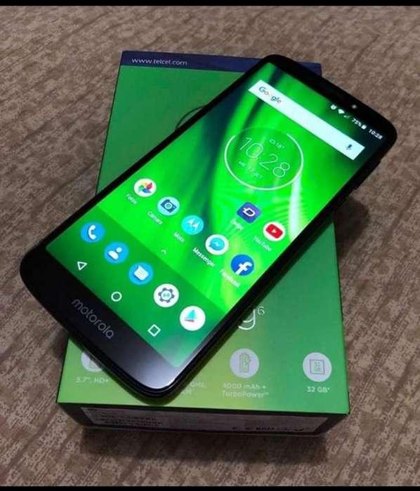 Vendo Moto G6 Play con Accesorios
