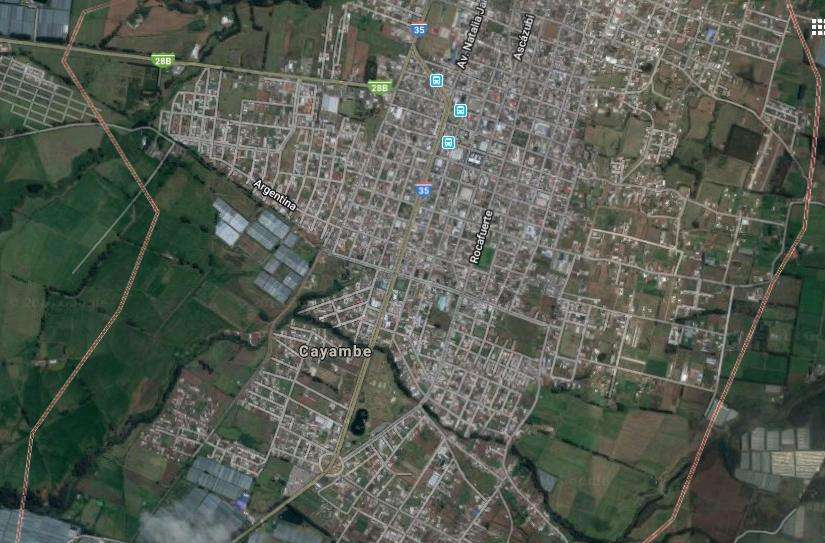 Terreno de venta en Cayambe, Vendo 20.000 m² Orongoloma cerca de fabricas de queso urbanización conjunto floricola
