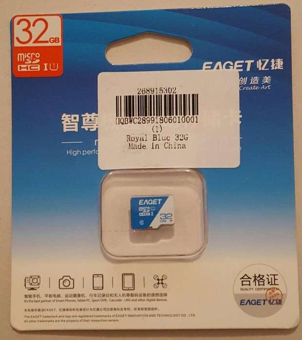 Microsd Marca Eaget 3264 Gb. 100 Mb.seg