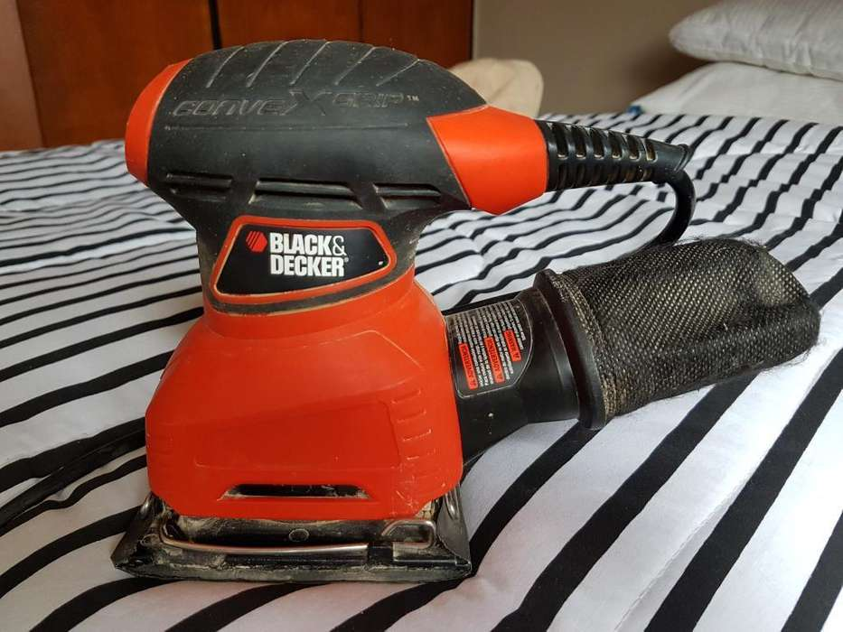 Vendo Lijadora Orbital Black & Decker