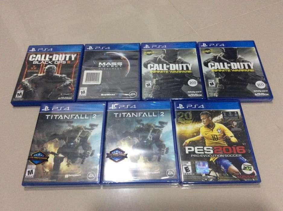 Oferta Games Ps4 desde 30 Mil