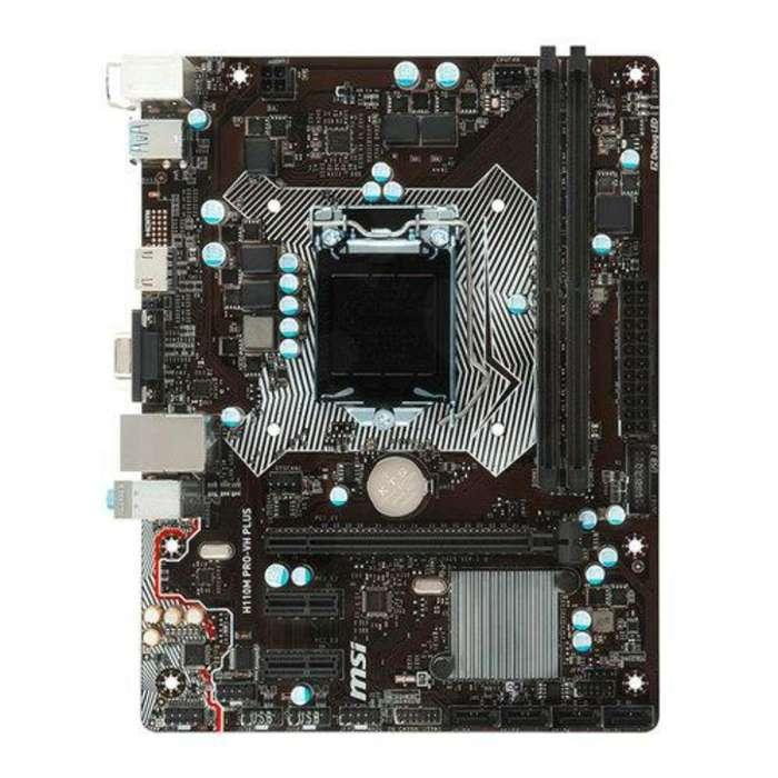 Board Msi H110m Pro-vh Plus con I3 7100