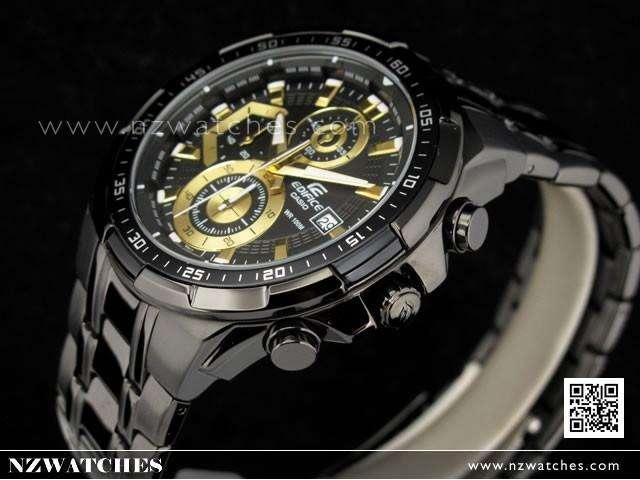 Reloj Casio Edifice Efr539bk1av Cronografo Original 100