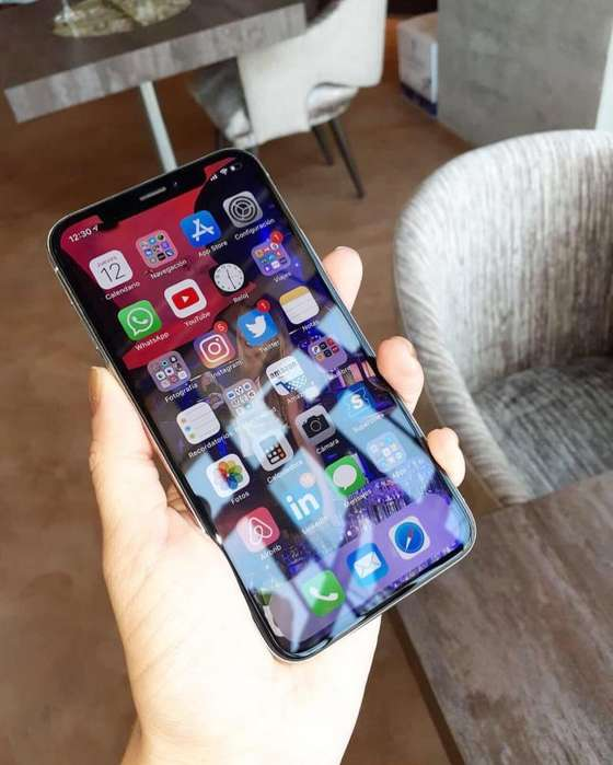 iPhone X 64Gb plateado! excelente estado