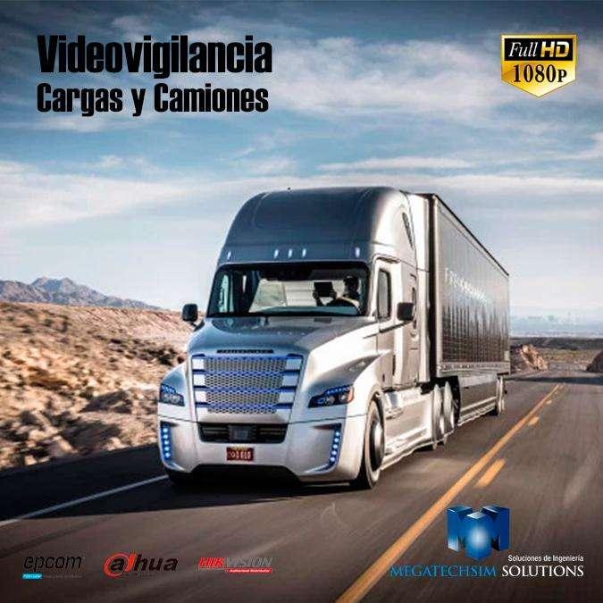 video vigilancia mobil autos cargas camiones contenedores barcos