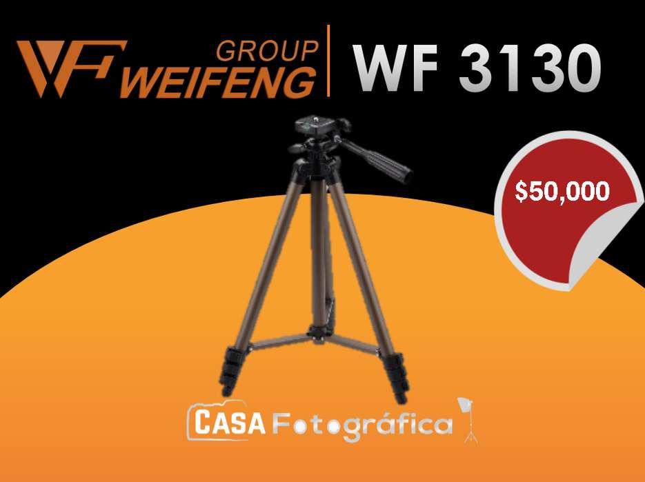 Weifeng WT3130 portátil Trípode de Cámara Pan Head Set con Bolsa