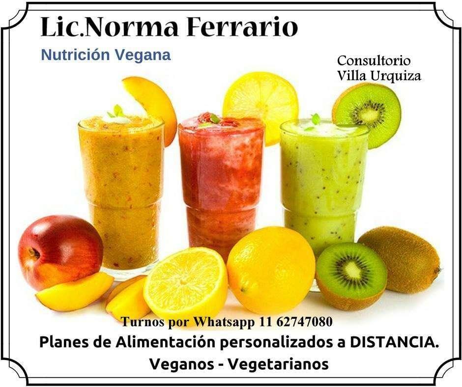 Consultas nutricion vegana y vegetariana