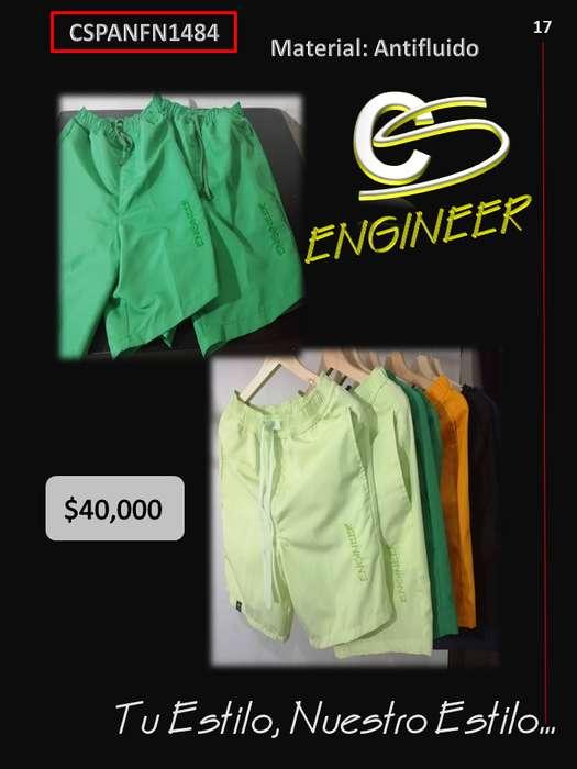 Pantaloneta todos los colores disponibles para Caballero