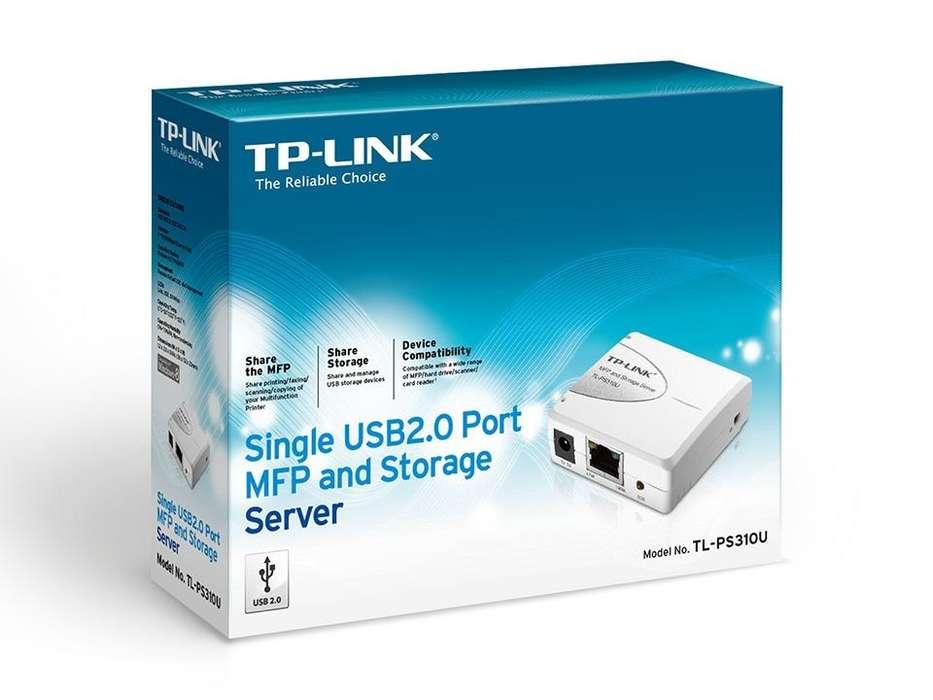 Servidor De Impresion Usb Tp Link Tlps310u Mfp Print Server