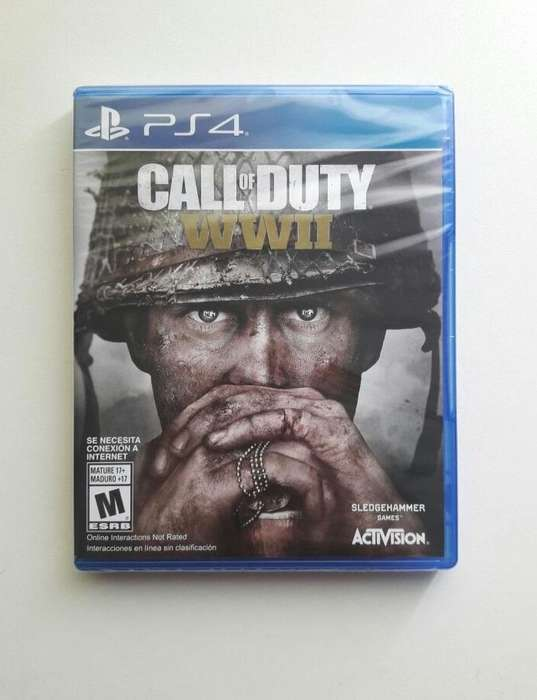 PS4 CALL OF DUTY WWII NUEVO SELLADO PLAY STATION 4 TIENDATOPMK